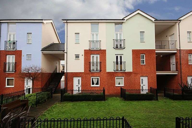 1 Bedroom Flat for sale in One bedroom studio ground floor apartment