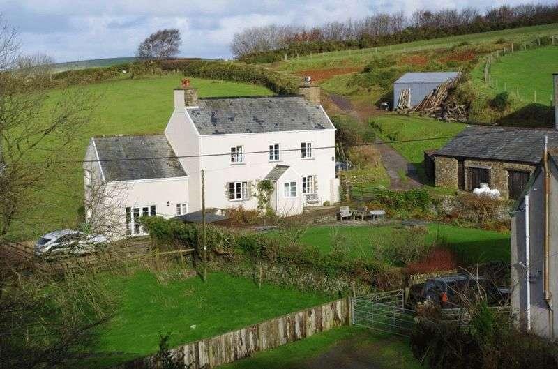 5 Bedrooms Detached House for sale in Rural Cottage & Land, Brendon, Lynton
