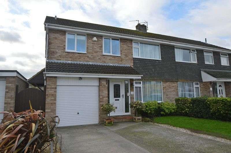 4 Bedrooms Semi Detached House for sale in Situated in the popular west end of Clevedon