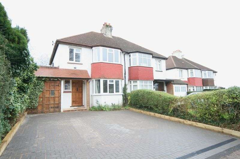 3 Bedrooms Semi Detached House for sale in Riddlesdown Road, Purley