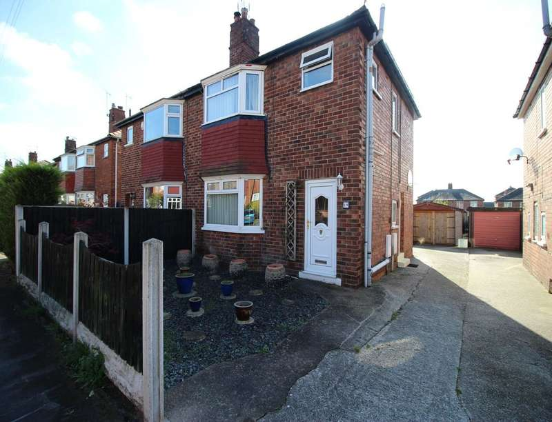 3 Bedrooms Semi Detached House for sale in Carlton Close, Worksop, S81