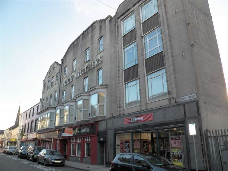 1 Bedroom Flat for sale in Pugh Buildings, Llanelli