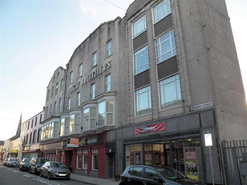 1 Bedroom Flat for sale in Pugh Buildings, Llanelli