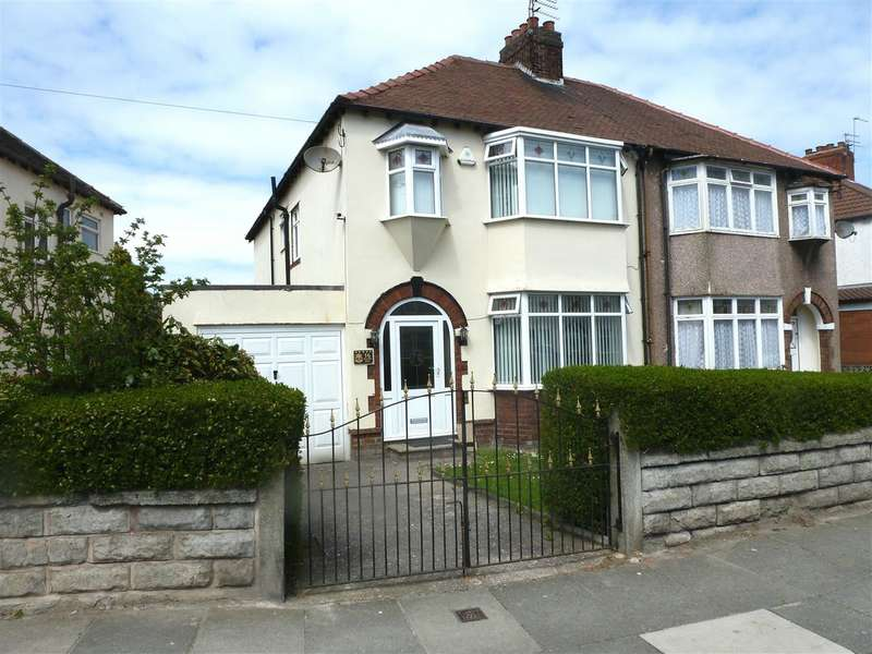 4 Bedrooms Semi Detached House for sale in Swanside Road, Swanside, Liverpool