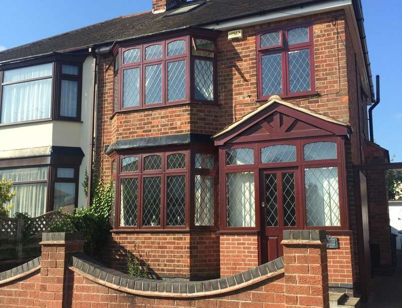 4 Bedrooms Semi Detached House for sale in Paigle Road, Leicester, LE2