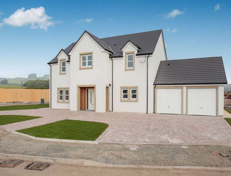 4 Bedrooms Detached House for sale in Ottersburn Way, Crocketford, Dumfries, DG2