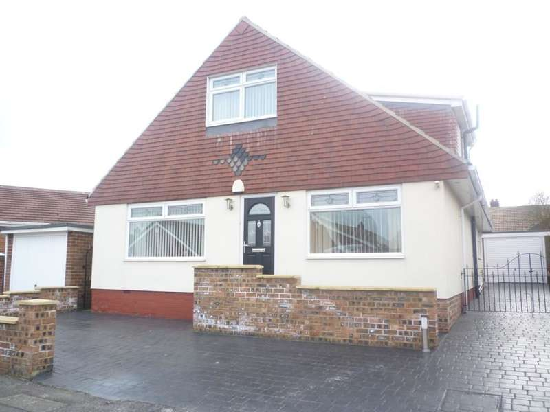 3 Bedrooms Detached Bungalow for sale in Sycamore Road, Ormesby, Middlesbrough, TS7