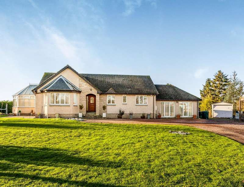 5 Bedrooms Detached Bungalow for sale in The Acres, Grange, Errol, Perth, PH2