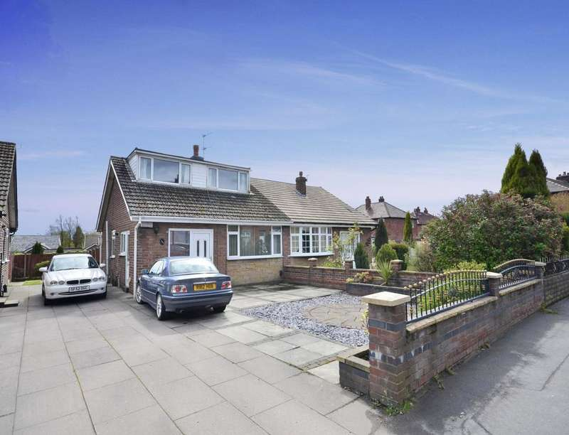 3 Bedrooms Semi Detached Bungalow for sale in Buckley Lane, Farnworth, Bolton, BL4