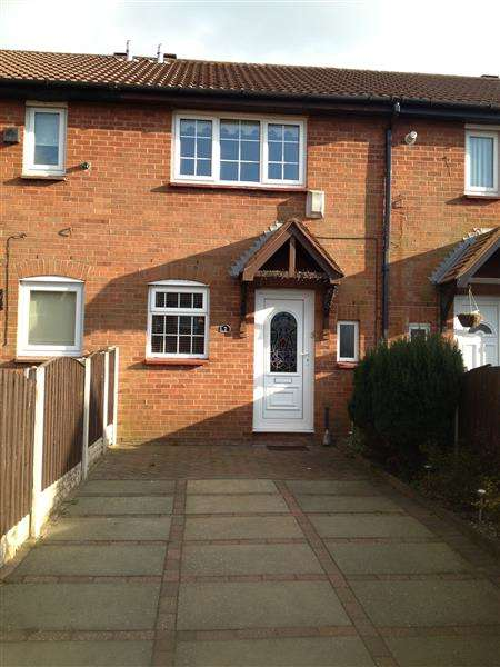 2 Bedrooms Terraced House for sale in Petersfield Close, Netherton