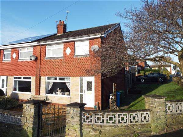3 Bedrooms Semi Detached House for sale in Camberwell Way, Royton