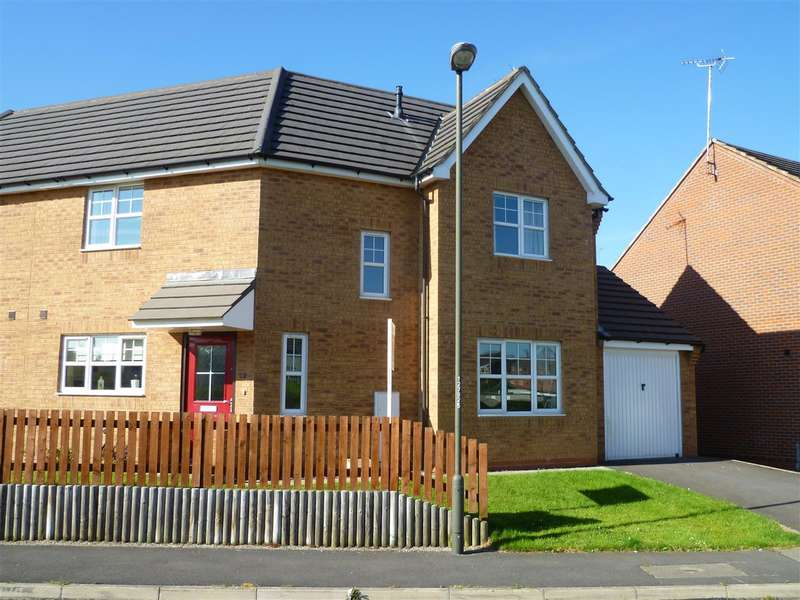 3 Bedrooms Semi Detached House for sale in Pencroft Lane, Chesterfield