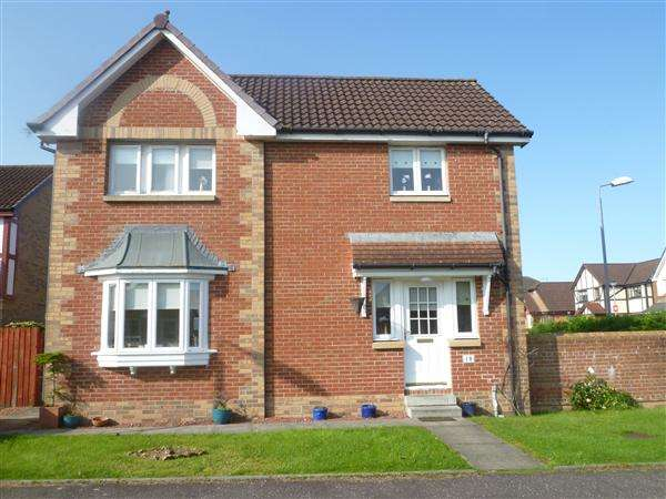 3 Bedrooms Detached House for sale in Meadow Way, Kilwinning