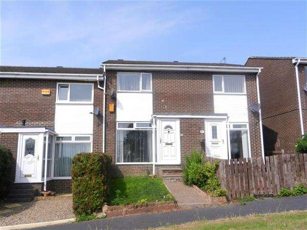 2 Bedrooms Link Detached House for sale in Forres Court, Stanley
