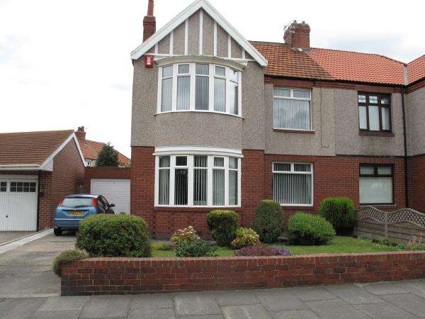 3 Bedrooms Semi Detached House for sale in King George Road, South Shields