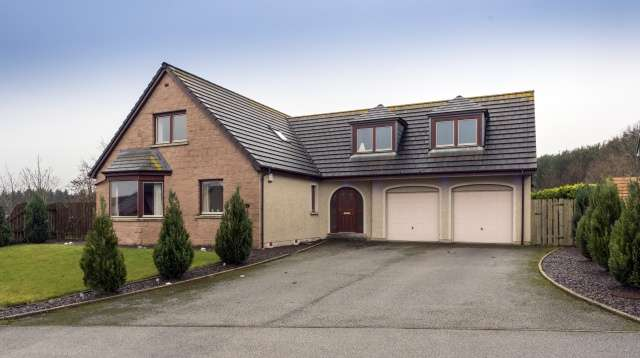 4 Bedrooms Property for sale in Cairn Seat, Inverurie, Aberdeenshire, AB51 5JH