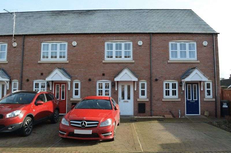 2 Bedrooms Terraced House for sale in Granary Fold, Scotter, Gainsborough