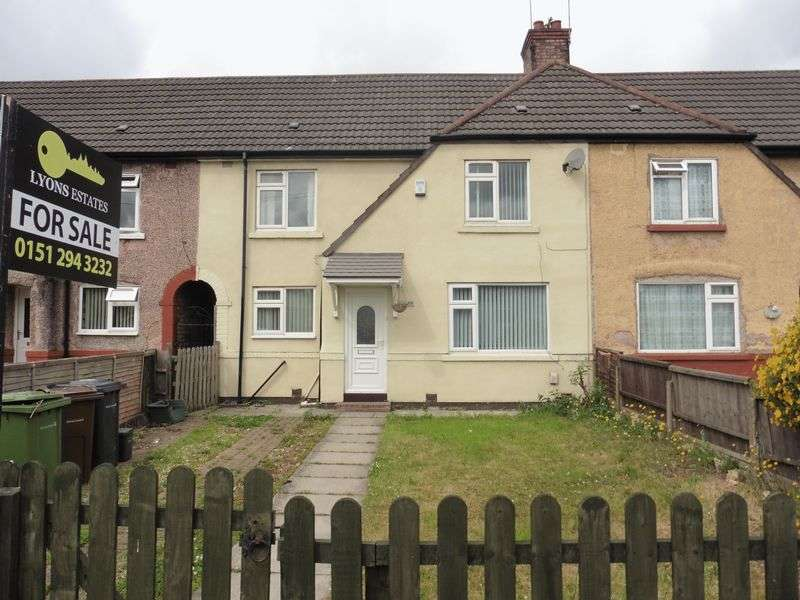 3 Bedrooms Terraced House for sale in Fernhill Road, Bootle