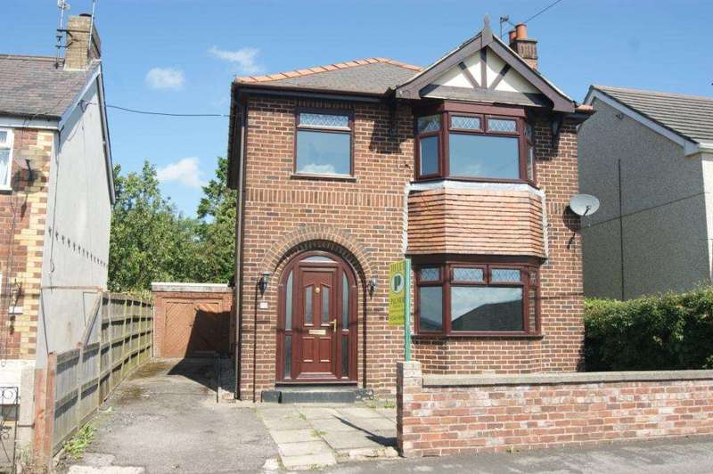 3 Bedrooms Detached House for sale in Spon Green, Buckley, Flintshire, CH7 3BL.