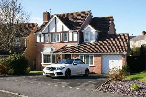 4 Bedrooms Detached House for sale in Waun Deri, Pembrey, Burry Port, Carmarthenshire