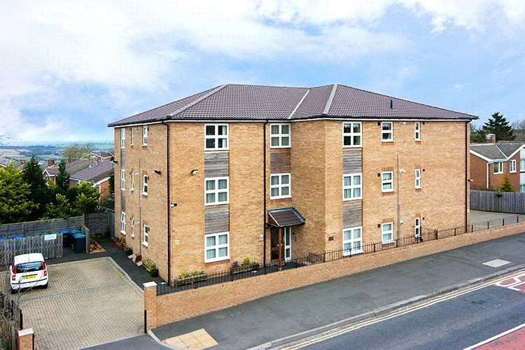 2 Bedrooms Retirement Property for sale in Robson House, Burnopfield, Newcastle Upon Tyne, NE16