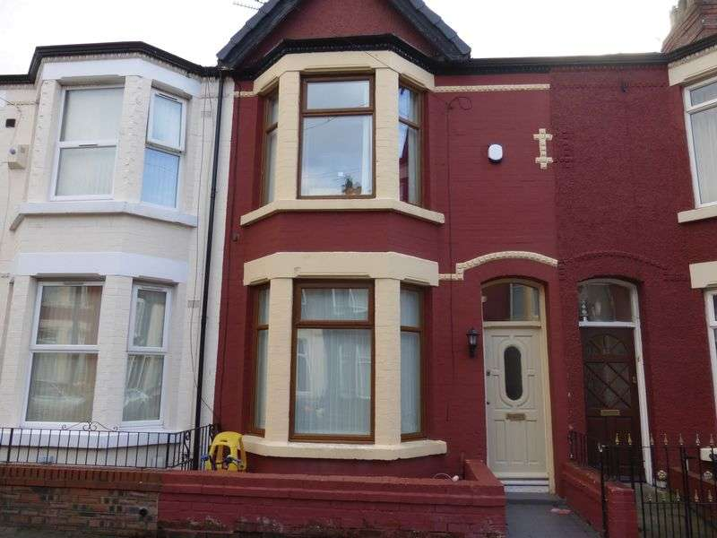 3 Bedrooms Terraced House for sale in Cedardale Road, Liverpool