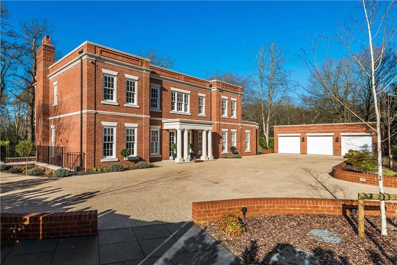 5 Bedrooms Detached House for sale in Waverley Drive, Wentworth, Virginia Water, GU25