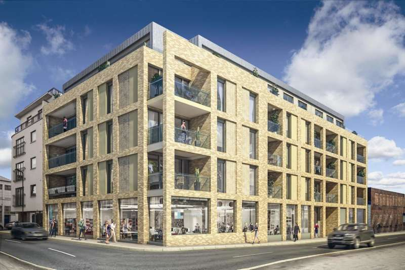 2 Bedrooms Flat for sale in Sawmill Studios, 17-20 Parr Street, N1