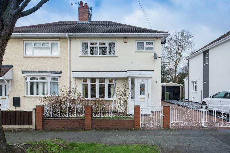 3 Bedrooms Semi Detached House for sale in Woodland Avenue, Tettenhall Wood, Wolverhampton