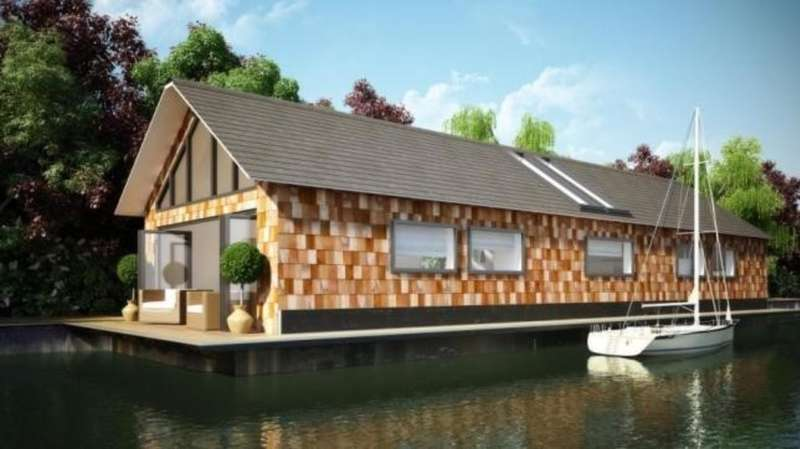 2 Bedrooms House Boat Character Property for sale in East Molesey