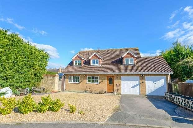 4 Bedrooms Detached House for sale in Clifden Close, Arrington, Royston, Cambridgeshire