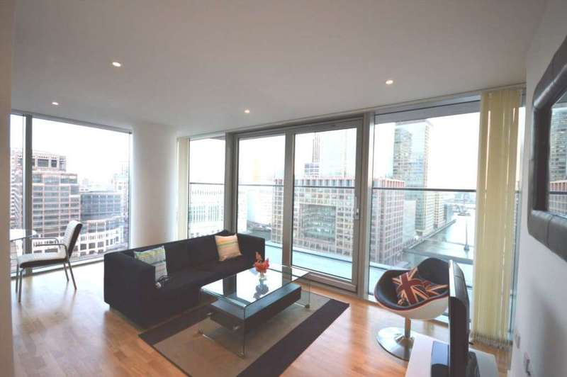 2 Bedrooms Apartment Flat for sale in Marsh Wall, South Quay