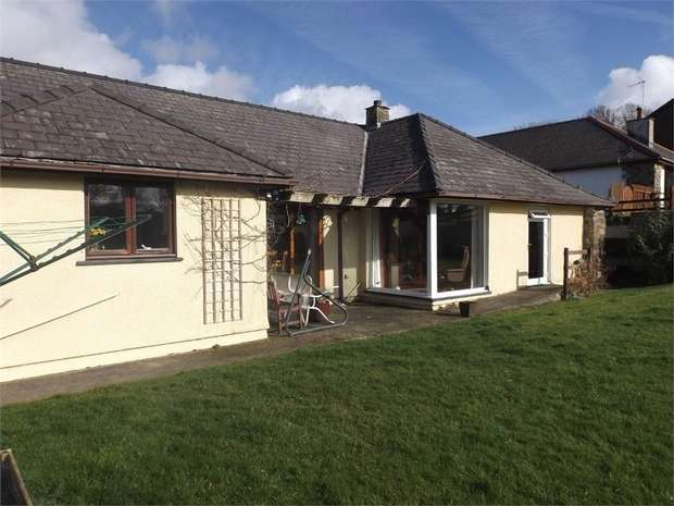 4 Bedrooms Detached Bungalow for sale in Llanarth, Ceredigion, Ceredigion