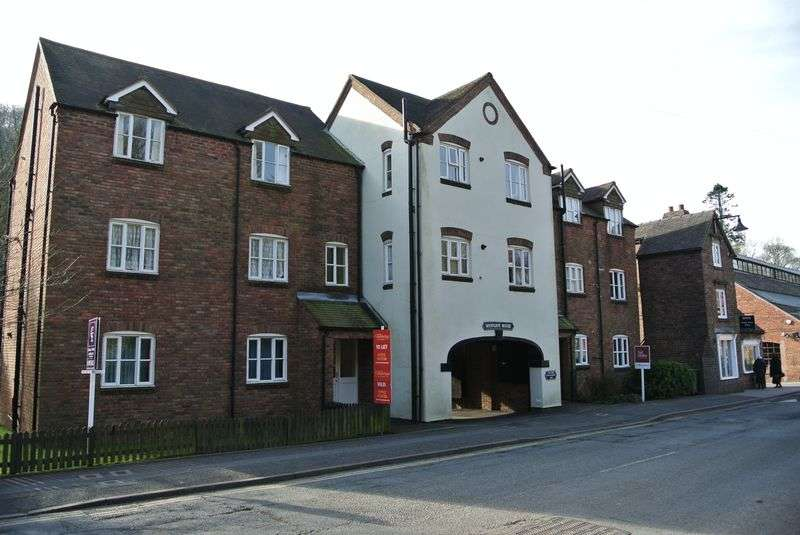 1 Bedroom Flat for sale in Westgate House, Ironbridge, Telford, Shropshire.