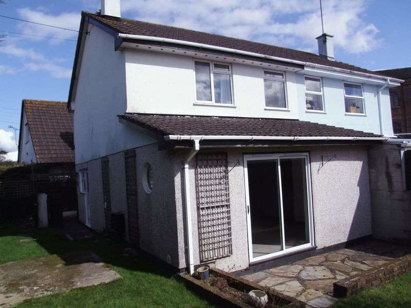 3 Bedrooms Semi Detached House for sale in St Blazey Road, Par