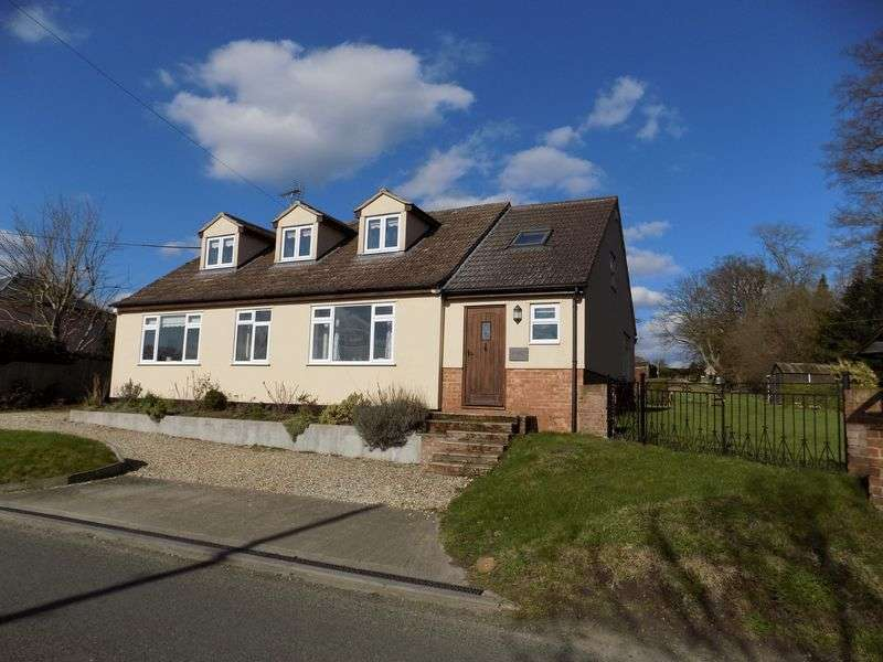 3 Bedrooms Detached House for sale in A rare opportunity to acquire a 3/4 bedroom detached property on a plot approaching 3/4 of an acre with South facing views over the beautiful Dedham Vale, a well known conservation area, and an area of outstanding natural beauty( AONB )
