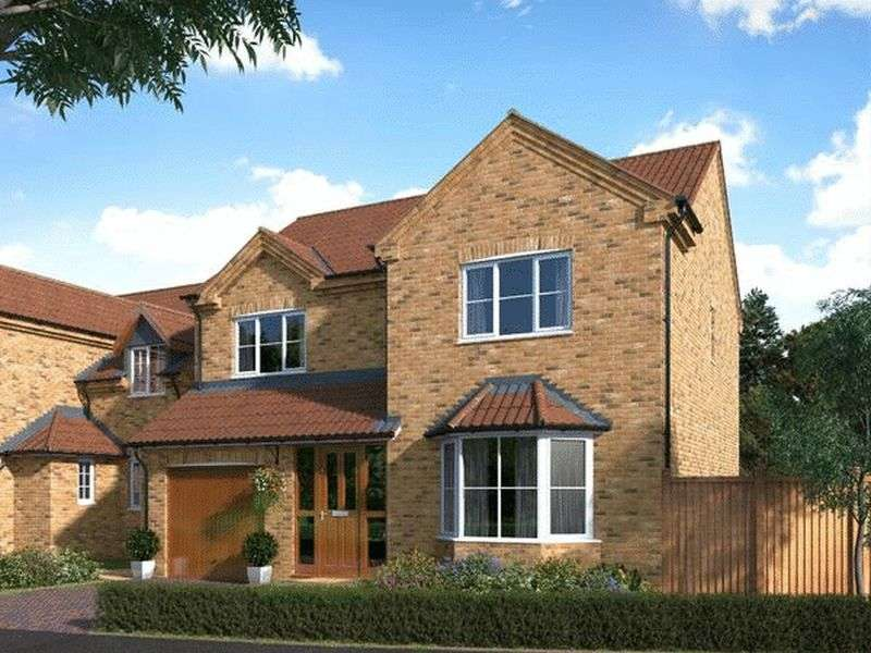 4 Bedrooms Detached House for sale in Plot 31, Franklin Way, Barrow-Upon-Humber