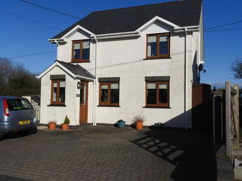 4 Bedrooms Detached House for sale in Llanrhystud
