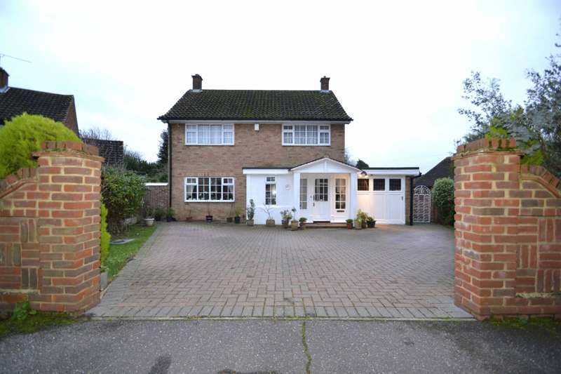 4 Bedrooms Detached House for sale in Western Close, Silver End, Witham, Essex, CM8