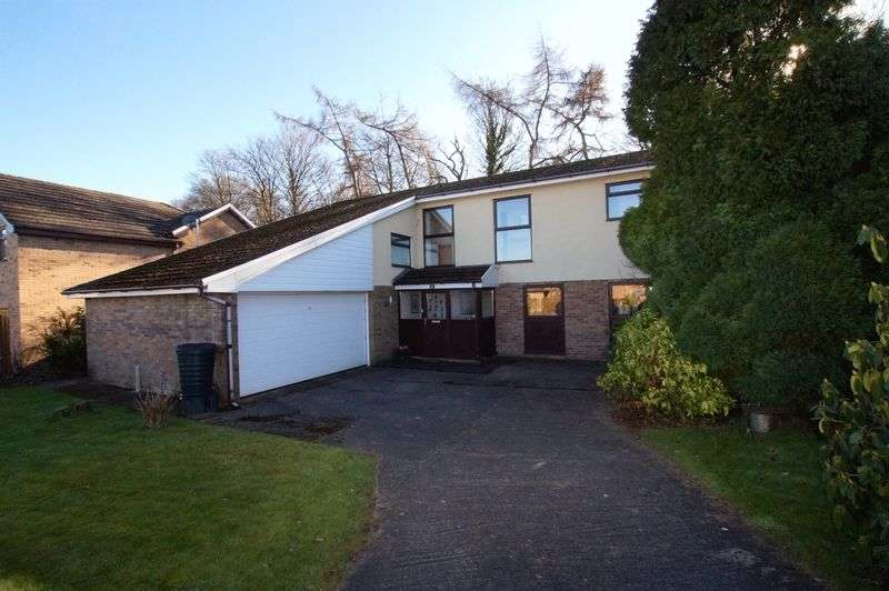 4 Bedrooms Detached House for sale in Drws Y Coed, Coed y Glyn, Wrexham