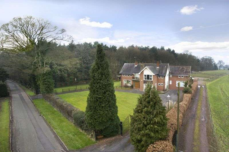 5 Bedrooms Detached House for sale in Crateford Lane, Gailey, Stafford