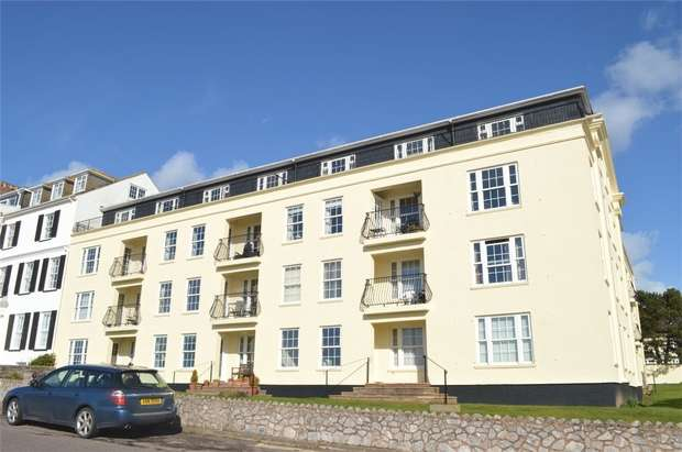 2 Bedrooms Flat for sale in Pencarwick House, Louisa Place, EXMOUTH, Devon