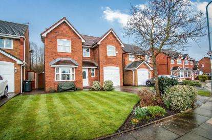 4 Bedrooms Detached House for sale in Satinwood Crescent, Melling, Liverpool, Merseyside, L31
