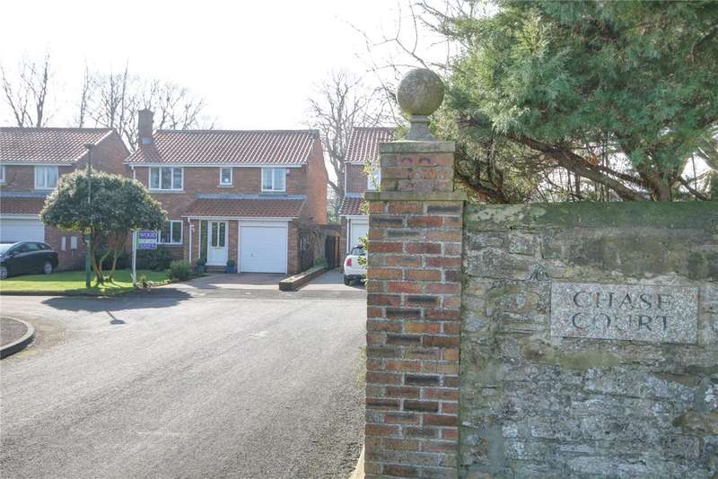 4 Bedrooms Detached House for sale in Chase Court, Sherburn Village, Durham, DH6