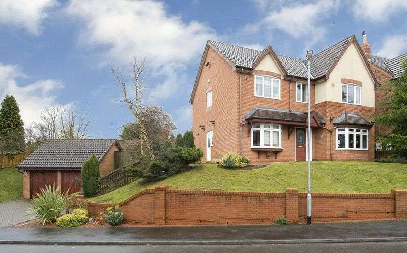 4 Bedrooms Detached House for sale in 1 The Stewponey, Stourton, Stourbridge