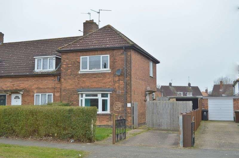 2 Bedrooms Terraced House for sale in Stephenson Way, Corby