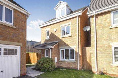 4 Bedrooms Detached House for sale in Broad Birches, Ellesmere Port, Cheshire, ., CH65