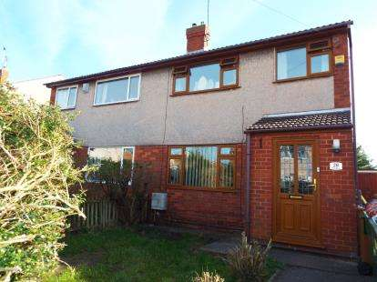 3 Bedrooms Semi Detached House for sale in Pren Avenue, Mynydd Isa, Mold, Flintshire, CH7
