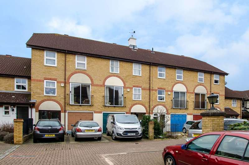 4 Bedrooms Terraced House for sale in Tyrrel Square, Colliers Wood, CR4