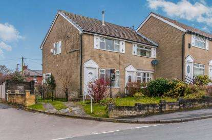 2 Bedrooms Semi Detached House for sale in Tame Barn Close, Milnrow, Rochdale, Greater Manchester, OL16